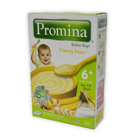 Bebelac 4 1800 Gram detil produk promina 6 bubur bayi 120 gr pisang