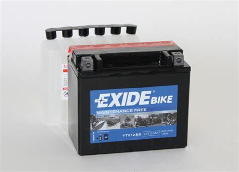 Ytx12 Bs Motorradbatterie by Exide Bike Ytx12 Bs 51012 Batterie Zentrum