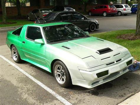 mitsubishi starion 1987 mitsubishi starion turbo wide body 2 6 1987 1989