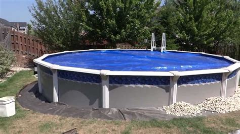 pool installation amp detailing around with river rock youtube