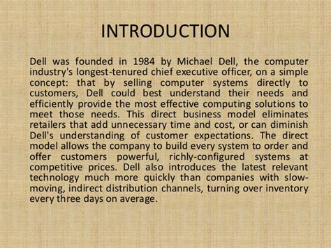 Analysis Of Product Development At Dell Computer Corporation At Essaypedia by Dell Computer Corporation Study Solution Writinggroup361 Web Fc2