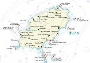 Ibiza Spain Map by Ibiza Spain Map Imsa Kolese