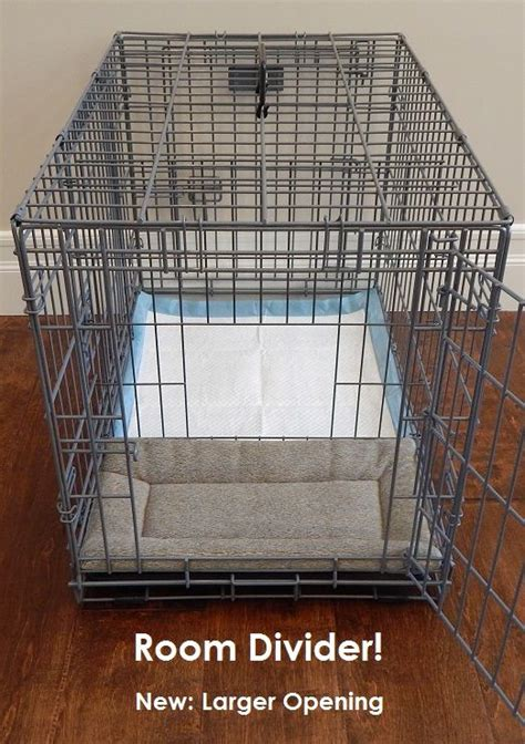 puppy crate divider this is the only type of crate in the world that includes our patent pending room