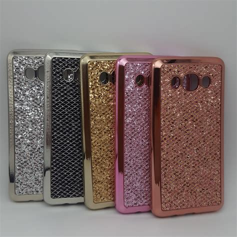 Samsung Galaxy J710 J7 2016 Luxury Mirror Bulat luxury bling sparkle glitter for samsung galaxy j1 j5 j7 prime 2015 2016 2017 j120 j510