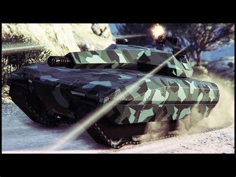 "gta 5 online new ""tm 02 khanjali"" tank dlc gameplay"