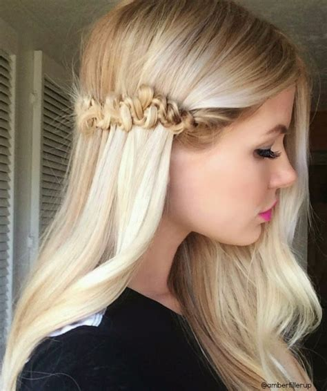 easy hairstyles braids long hair easy long hairstyles with little braids 2015 styles time