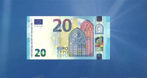 sieht der neue  euro schein aus