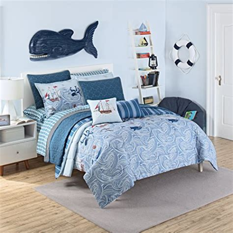 pirate comforter queen waverly ride the waves pirate comforter set aqua beachfront decor