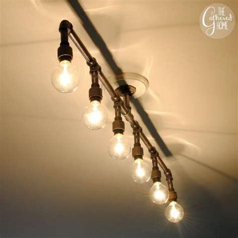 Plumbing Light Fixtures Diy Plumbing Pipe Light Fixture Diy