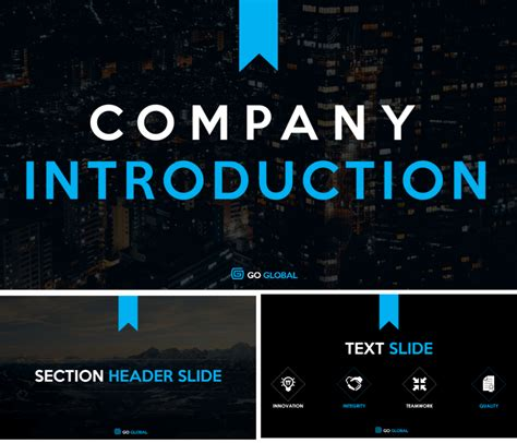 ppt templates for introduction company introduction powerpoint template wise quote