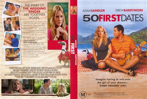 50 First Dates 2004 Covers Box Sk 50 First Dates 2004 High Quality Dvd Blueray Movie