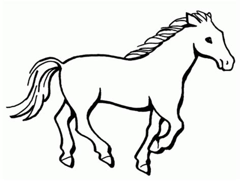 Image Gallery Horse Drawings To Colour | horse template animal templates free premium templates