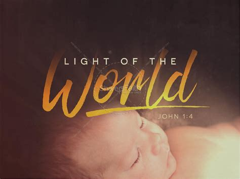 light of the world christmas sermon powerpoint christmas