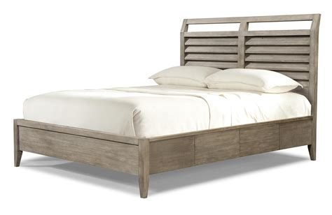 low profile queen bed queen low profile louvered panel bed by cresent fine