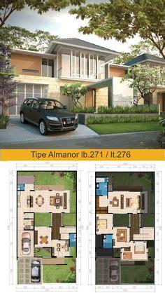 desain rumah hook type 100 model rumah hook 2 lantai 2 eksterior desain pinterest