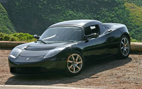 Tesla Roadster Sport Tesla Roadster Sport Widescreen Car Image 22 Of 72