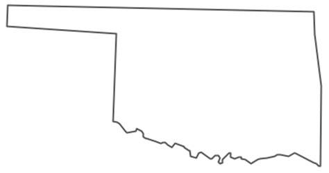 geo map usa oklahoma