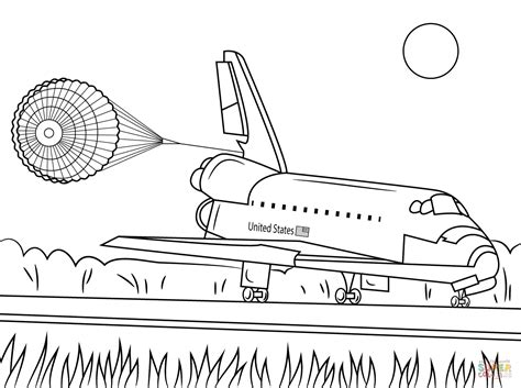 Endeavour Space Shuttle Coloring Page Pics About Space Space Shuttle Coloring Pages