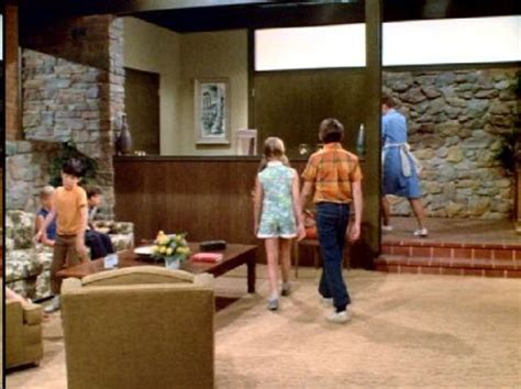brady bunch living room entryway on pinterest