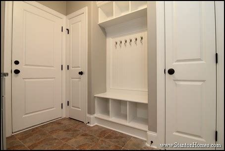 House Plans With Mudrooms by 7 Mudroom Drop Zone Ideas Raleigh Custom Home Builder