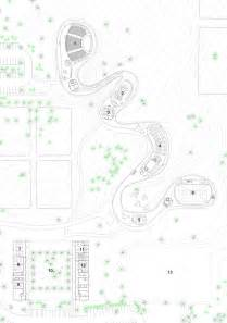 Grace farms site plan ground floor plan and elevation image by