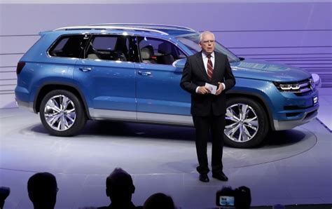 volkswagen 7 passenger suv volkswagen to build new seven passenger suv in tennessee
