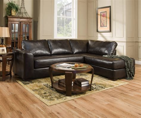 Simmons Lucky Espresso Sectional Sectional Sofa Sets
