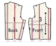 pattern grading template 1000 images about pattern grading resizing on pinterest