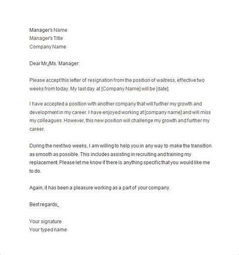 10 Two Weeks Notice Letter Templates Pdf Doc Free Premium Templates Two Week Notice Template Pdf