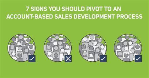 7 Signs That Your Child Is Developing An Disorder by 7 Signs To Pivot To An Account Based Sales Development