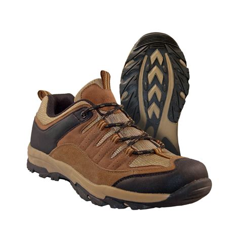 mens low cut hiking boots itasca s low cut hiking boots brown leather sporty