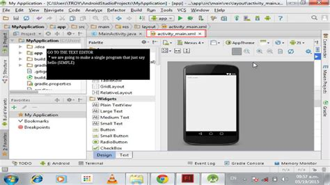 tutorial android studio video android studio live tutorial download apk for android