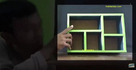 cara membuat kerajinan tangan lemari dari kardus kerajinan tangan dari kardus cara membuat sekat laci