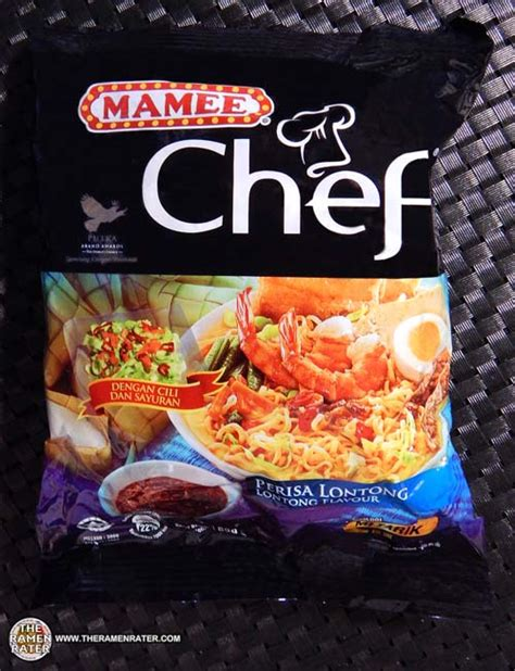 mamee chef lontong flavour  ramen rater
