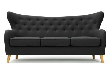 wilfred couch wilfred three seater sofa in charcoal