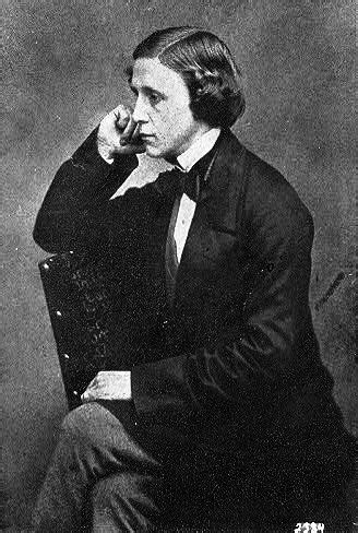birth  lewis carroll history today