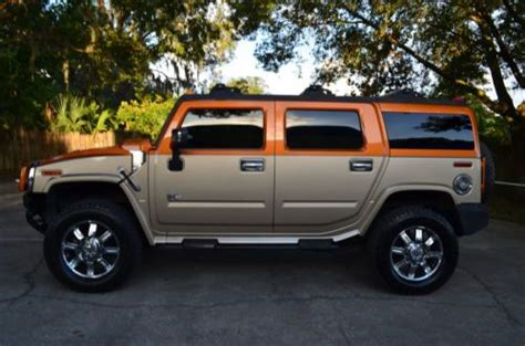 Hummer H2 Limited Edition by Buy Used 2006 Hummer H2 Limited Edition Loaded In Ta