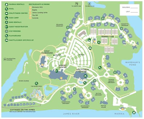 virginia resort area map kingsmill property map kingsmill resort williamsburg va