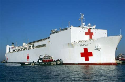 Uss Comfort Hospital Ship Navy Pinterest