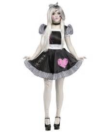 haunted doll halloween costume broken doll womens costume women costume