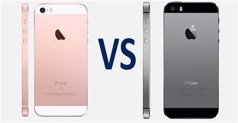 iphone 5 vs iphone 5s iphone se vs iphone 5s comparison what s the difference
