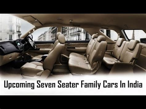 upcoming new 7 seater family cars in india 2016, 2017