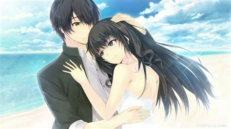 anime girl with black hair and blue eyes dress blue eyes long hair brown eyes short hair anime boys