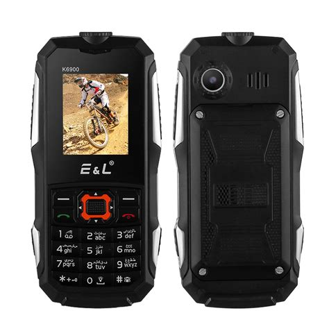 rugged cell wholesale ip68 rugged cell phone el k6900 from china