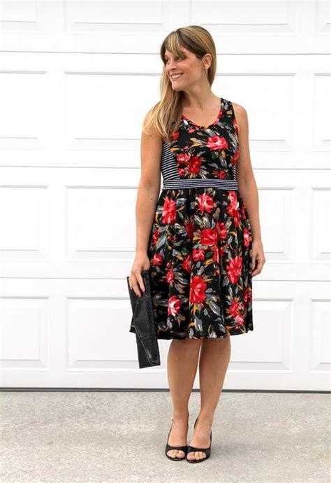swing dress tutorial easy swing dress tutorial allfreesewing com