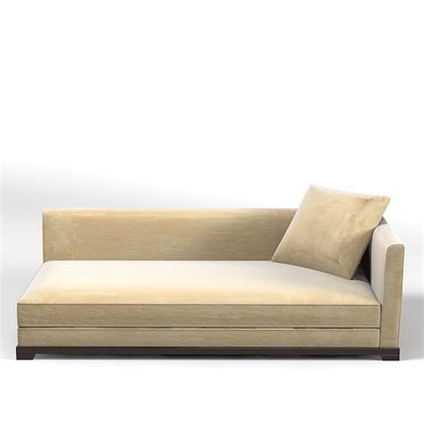 contemporary chaise lounge sofa promemoria modern contemporary 3d model