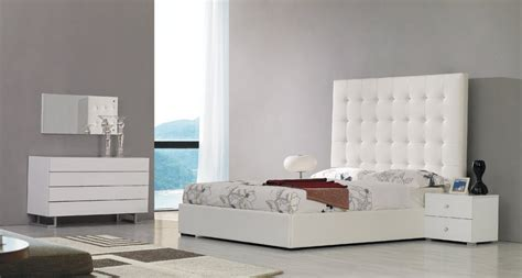 tall white leather headboard lyrica white bonded leather tall headboard bed