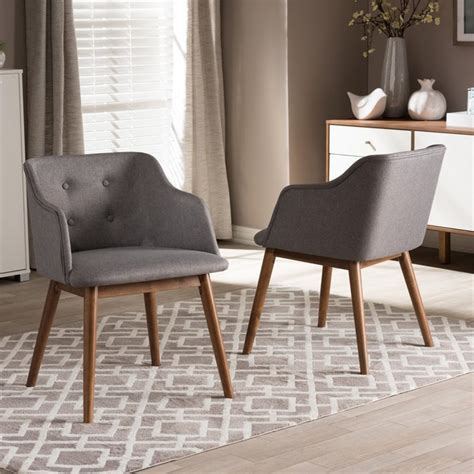 gray accent chairs set of 2 harrison accent chair in gray set of 2 bbt5263 grey cc