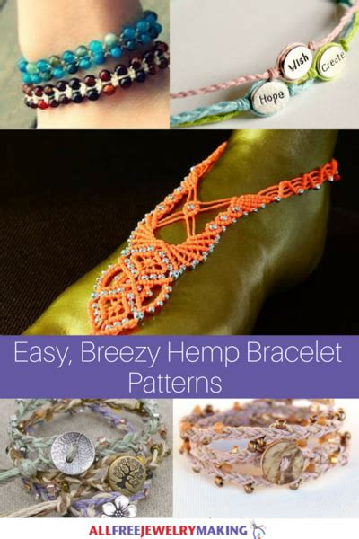 Hemp Knots Advanced - 29 easy breezy hemp bracelet patterns