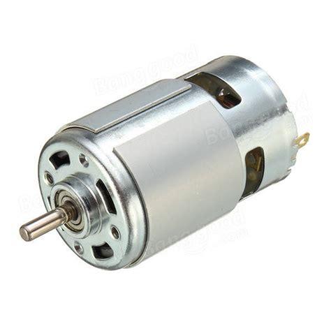 Motor Dinamo Rs385 Dc 12v 775 motor dc 12v 36v 3500 9000rpm motor large torque high power motor sale banggood